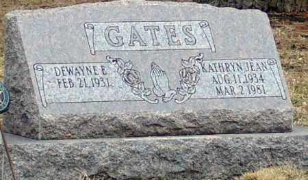 GATES, KATHRYN JEAN - Minnehaha County, South Dakota | KATHRYN JEAN GATES - South Dakota Gravestone Photos