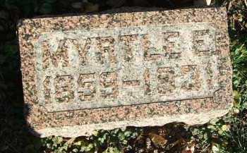 GATES, MYRTLE E. - Minnehaha County, South Dakota | MYRTLE E. GATES - South Dakota Gravestone Photos