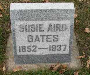 GATES, SUSIE AIRD - Minnehaha County, South Dakota | SUSIE AIRD GATES - South Dakota Gravestone Photos
