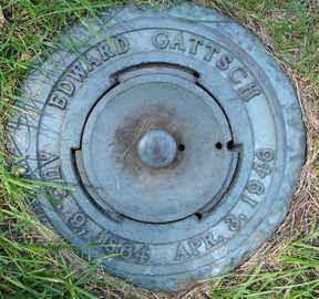 GATTSCH, EDWARD - Minnehaha County, South Dakota | EDWARD GATTSCH - South Dakota Gravestone Photos
