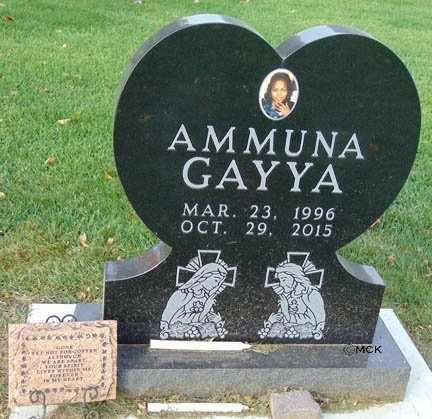 ANNUR GAYYA, AMMUNA - Minnehaha County, South Dakota   AMMUNA ANNUR GAYYA - South Dakota Gravestone Photos