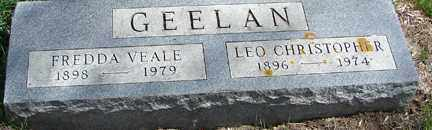 GEELAN, FREDDA VEALE - Minnehaha County, South Dakota | FREDDA VEALE GEELAN - South Dakota Gravestone Photos