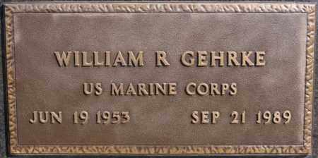 GEHRKE, WILLIAM R (MILITARY) - Minnehaha County, South Dakota | WILLIAM R (MILITARY) GEHRKE - South Dakota Gravestone Photos