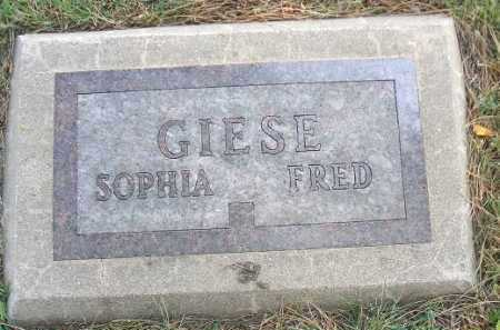 GIESE, FRED - Minnehaha County, South Dakota | FRED GIESE - South Dakota Gravestone Photos