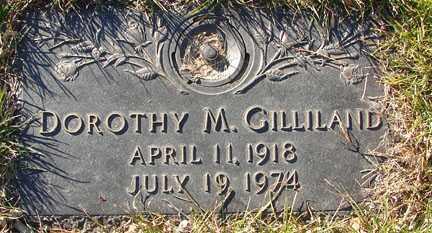 GILLILAND, DOROTHY M. - Minnehaha County, South Dakota | DOROTHY M. GILLILAND - South Dakota Gravestone Photos