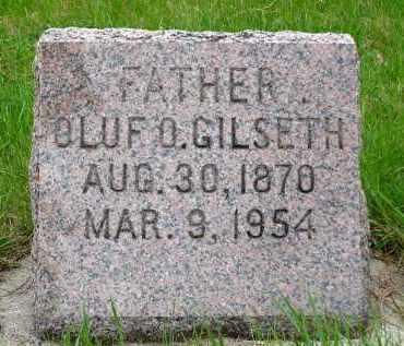 GILSETH, OLUF O. - Minnehaha County, South Dakota | OLUF O. GILSETH - South Dakota Gravestone Photos