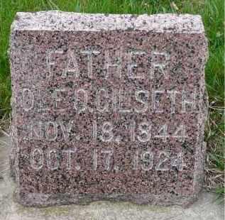 GILSETH, OLE O. - Minnehaha County, South Dakota | OLE O. GILSETH - South Dakota Gravestone Photos