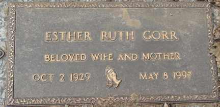 BOETTCHER GORR, ESTHER RUTH - Minnehaha County, South Dakota | ESTHER RUTH BOETTCHER GORR - South Dakota Gravestone Photos