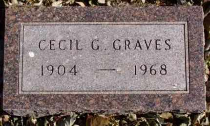 GRAVES, CECIL G. - Minnehaha County, South Dakota | CECIL G. GRAVES - South Dakota Gravestone Photos