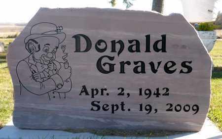GRAVES, DONALD - Minnehaha County, South Dakota | DONALD GRAVES - South Dakota Gravestone Photos
