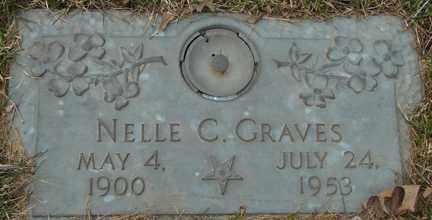 GRAVES, NELLE C. - Minnehaha County, South Dakota   NELLE C. GRAVES - South Dakota Gravestone Photos