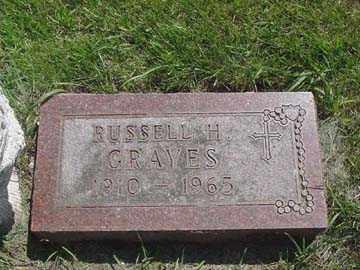 GRAVES, RUSSELL H. - Minnehaha County, South Dakota | RUSSELL H. GRAVES - South Dakota Gravestone Photos