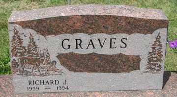 GRAVES, RICHARD J. - Minnehaha County, South Dakota   RICHARD J. GRAVES - South Dakota Gravestone Photos