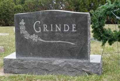 GRINDE, GLADYS A. - Minnehaha County, South Dakota | GLADYS A. GRINDE - South Dakota Gravestone Photos