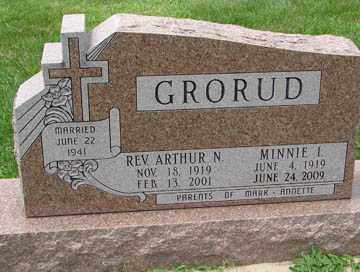 JOHNSON GRORUD, MINNIE I. - Minnehaha County, South Dakota | MINNIE I. JOHNSON GRORUD - South Dakota Gravestone Photos