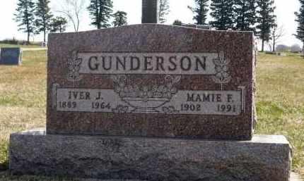 GUNDERSON, MAMIE F. - Minnehaha County, South Dakota | MAMIE F. GUNDERSON - South Dakota Gravestone Photos