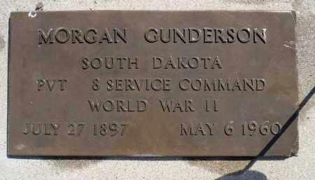 GUNDERSON, MORGAN - Minnehaha County, South Dakota   MORGAN GUNDERSON - South Dakota Gravestone Photos