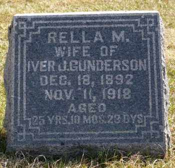 GUNDERSON, RELLA M. - Minnehaha County, South Dakota | RELLA M. GUNDERSON - South Dakota Gravestone Photos