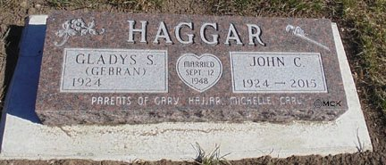 GEBRAN HAGGAR, GLADYS - Minnehaha County, South Dakota | GLADYS GEBRAN HAGGAR - South Dakota Gravestone Photos