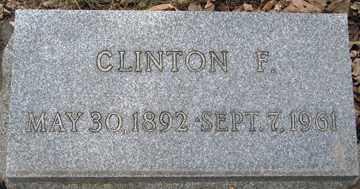 HALLADAY, CLINTON F. - Minnehaha County, South Dakota | CLINTON F. HALLADAY - South Dakota Gravestone Photos