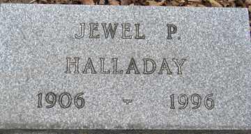 HALLADAY, JEWEL P. - Minnehaha County, South Dakota | JEWEL P. HALLADAY - South Dakota Gravestone Photos