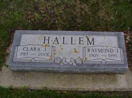 HALLEM, CLARA - Minnehaha County, South Dakota | CLARA HALLEM - South Dakota Gravestone Photos