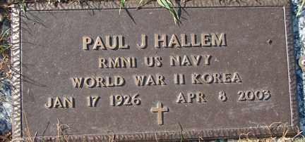 HALLEM, PAUL J. (WWII - KOREA) - Minnehaha County, South Dakota | PAUL J. (WWII - KOREA) HALLEM - South Dakota Gravestone Photos