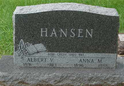 HANSEN, ANNA M. - Minnehaha County, South Dakota | ANNA M. HANSEN - South Dakota Gravestone Photos