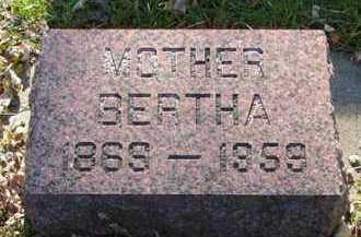 HANSEN, BERTHA - Minnehaha County, South Dakota | BERTHA HANSEN - South Dakota Gravestone Photos