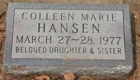 HANSEN, COLLEEN MARIE - Minnehaha County, South Dakota | COLLEEN MARIE HANSEN - South Dakota Gravestone Photos