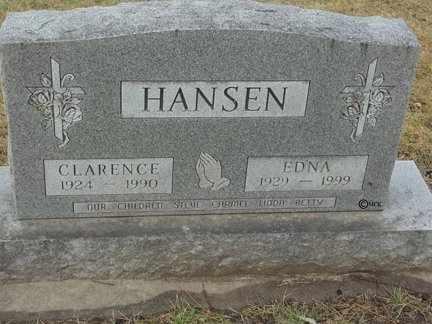 HANSEN, CLARENCE T. - Minnehaha County, South Dakota   CLARENCE T. HANSEN - South Dakota Gravestone Photos