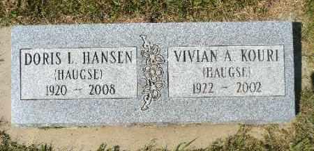 HANSEN, DORIS L. - Minnehaha County, South Dakota | DORIS L. HANSEN - South Dakota Gravestone Photos