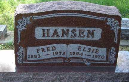 HANSEN, FREDERICK JOHN - Minnehaha County, South Dakota | FREDERICK JOHN HANSEN - South Dakota Gravestone Photos