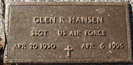 HANSEN, GLEN RICHARD - Minnehaha County, South Dakota | GLEN RICHARD HANSEN - South Dakota Gravestone Photos