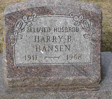 HANSEN, HARRY B. - Minnehaha County, South Dakota | HARRY B. HANSEN - South Dakota Gravestone Photos