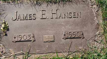 HANSEN, JAMES E. - Minnehaha County, South Dakota | JAMES E. HANSEN - South Dakota Gravestone Photos