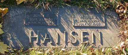 HANSEN, JENNIE J. - Minnehaha County, South Dakota | JENNIE J. HANSEN - South Dakota Gravestone Photos