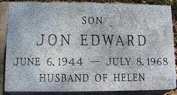 HANSEN, JON EDWARD - Minnehaha County, South Dakota | JON EDWARD HANSEN - South Dakota Gravestone Photos