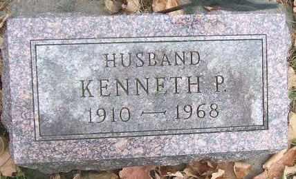 HANSEN, KENNETH P. - Minnehaha County, South Dakota | KENNETH P. HANSEN - South Dakota Gravestone Photos