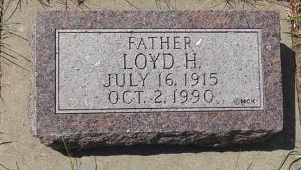 HANSEN, LOYD H. - Minnehaha County, South Dakota | LOYD H. HANSEN - South Dakota Gravestone Photos