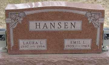 HANSEN, LAURA L. - Minnehaha County, South Dakota | LAURA L. HANSEN - South Dakota Gravestone Photos