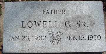 HANSEN, LOWELL C. SR. - Minnehaha County, South Dakota | LOWELL C. SR. HANSEN - South Dakota Gravestone Photos
