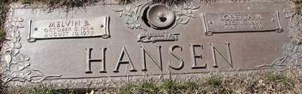 HANSEN, LORETTA MARIE - Minnehaha County, South Dakota | LORETTA MARIE HANSEN - South Dakota Gravestone Photos