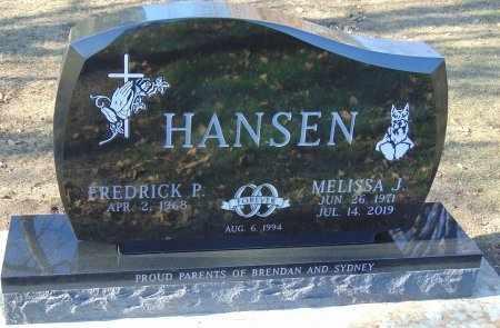 HANSEN, MELISSA J. - Minnehaha County, South Dakota   MELISSA J. HANSEN - South Dakota Gravestone Photos