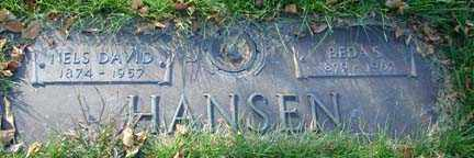 HANSEN, BEDA S. - Minnehaha County, South Dakota | BEDA S. HANSEN - South Dakota Gravestone Photos