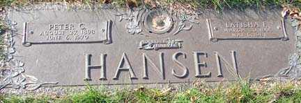 HANSEN, LATISHA F. - Minnehaha County, South Dakota | LATISHA F. HANSEN - South Dakota Gravestone Photos