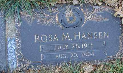HANSEN, ROSA M. - Minnehaha County, South Dakota | ROSA M. HANSEN - South Dakota Gravestone Photos