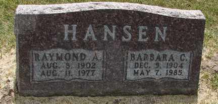 HANSEN, RAYMOND A. - Minnehaha County, South Dakota | RAYMOND A. HANSEN - South Dakota Gravestone Photos
