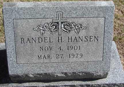 HANSEN, RANDEL H. - Minnehaha County, South Dakota | RANDEL H. HANSEN - South Dakota Gravestone Photos