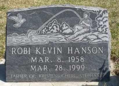 HANSON, ROBI KEVIN - Minnehaha County, South Dakota   ROBI KEVIN HANSON - South Dakota Gravestone Photos